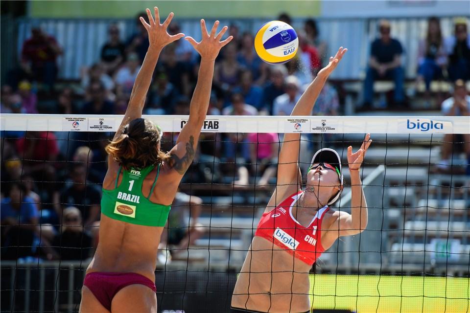 Duplas brasileiras encerram a participação em etapa na Suíça