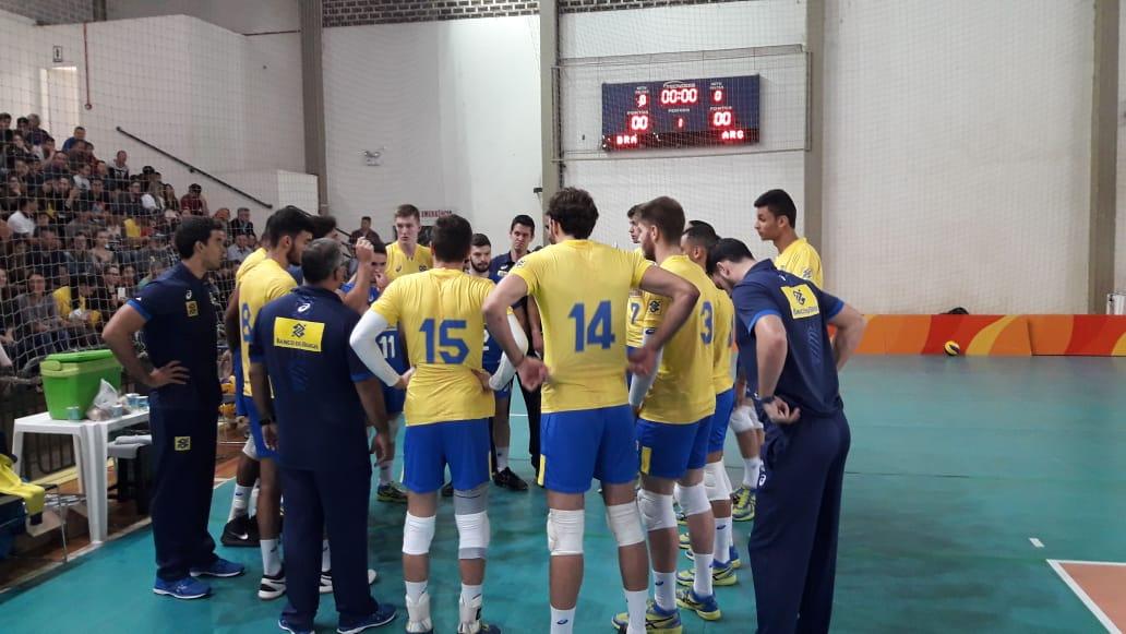 Em amistoso de equipes masculinas sub-21, Brasil é superado pela Argentina