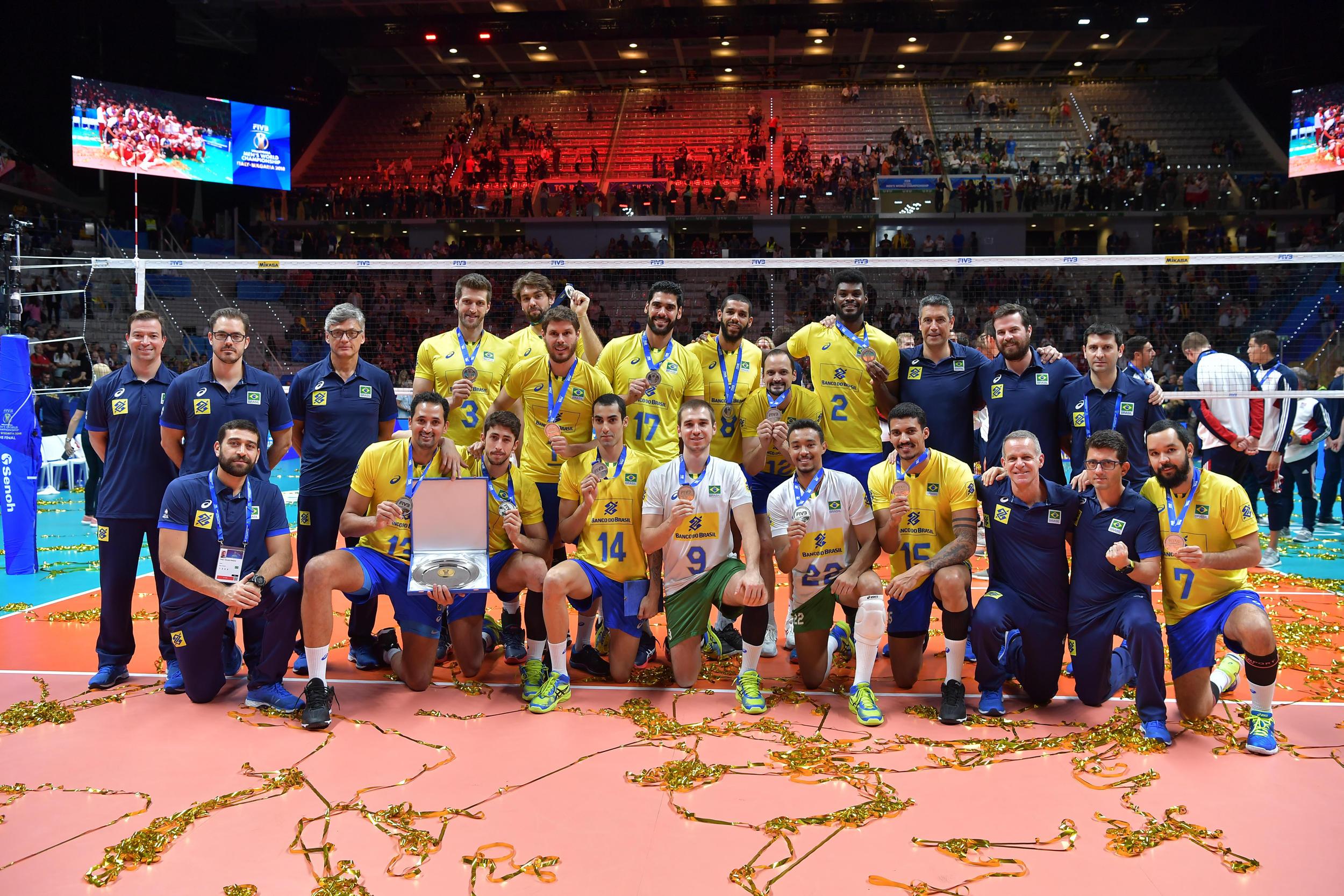 Em sua quinta final consecutiva, Brasil é vice-campeão do mundo