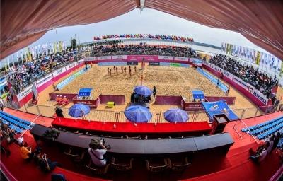 Embaladas, duplas brasileiras disputam etapa três estrelas na China