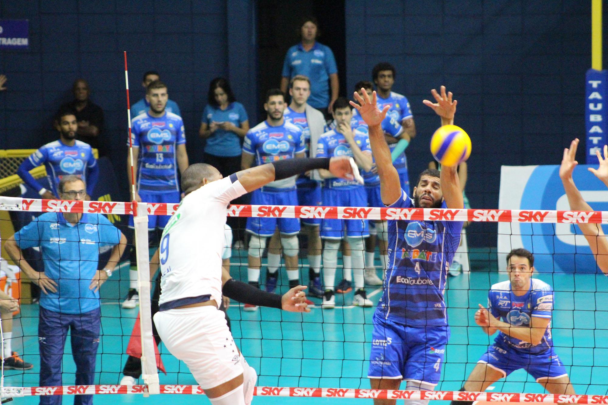 EMS Taubaté Funvic vence o Sada Cruzeiro e abre 2 a 0 na série