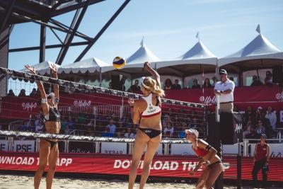 Etapa de Las Vegas é próximo desafio brasileiro no tour de vôlei de praia