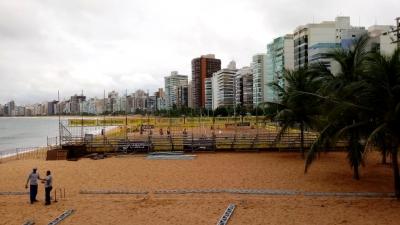 Etapa de Vila Velha (ES) define campeões da temporada de base do vôlei de praia