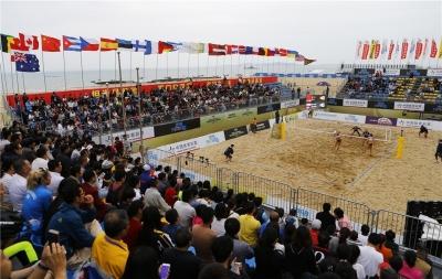 Etapa de Xiamen, na China, é o próximo desafio de duplas brasileiras na temporada
