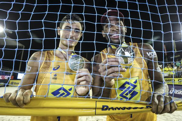 Evandro e André conquistam etapa de Aracaju e fecham tour com chave de ouro