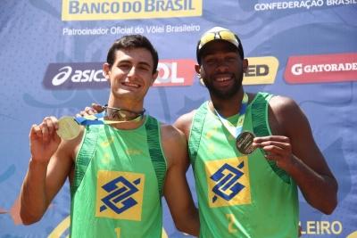 Evandro e André Stein comemoram indicação ao Prêmio Brasil Olímpico
