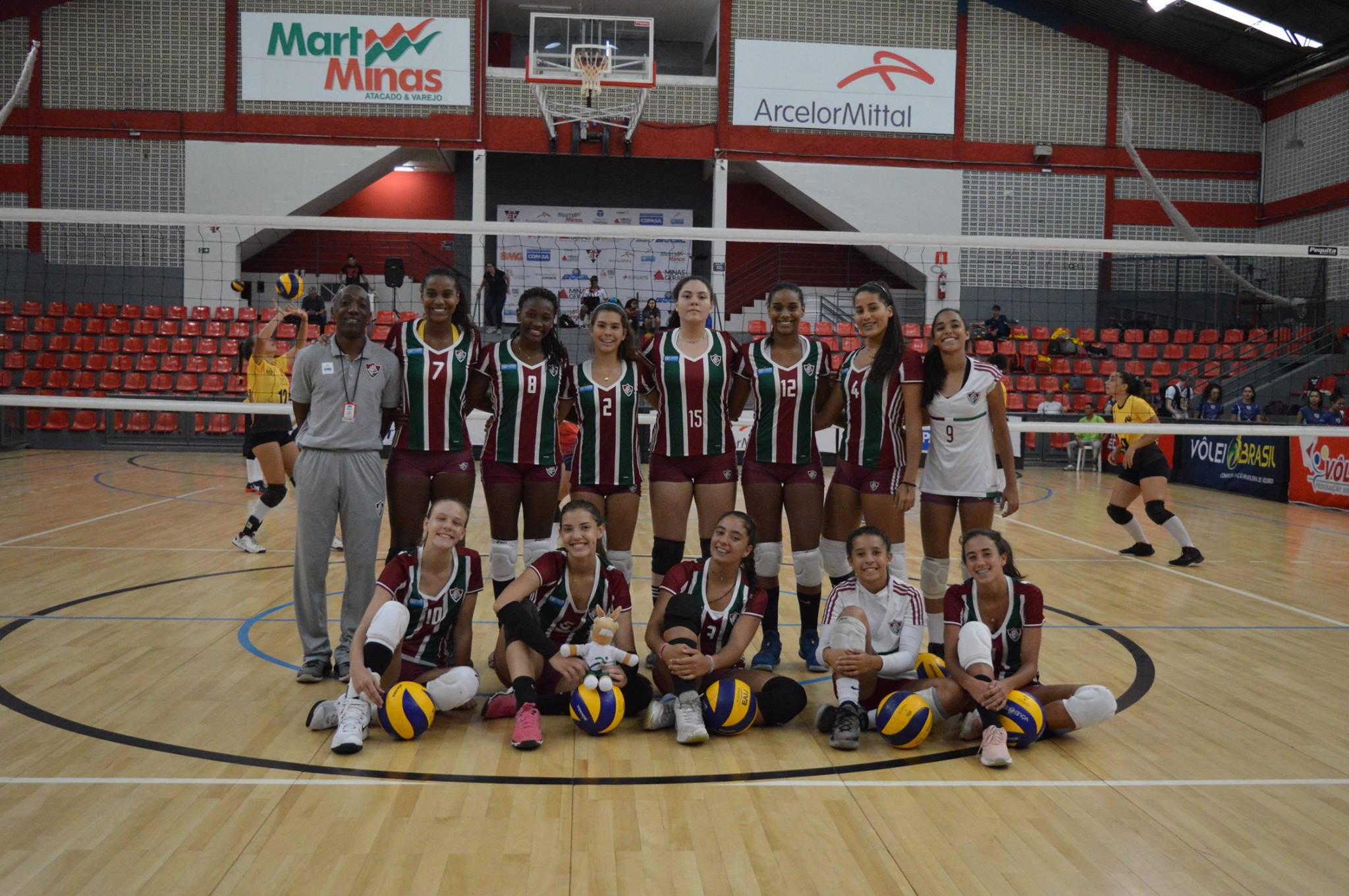 Fluminense (RJ) conquista o título após superar o Sada (MG) no tie-break