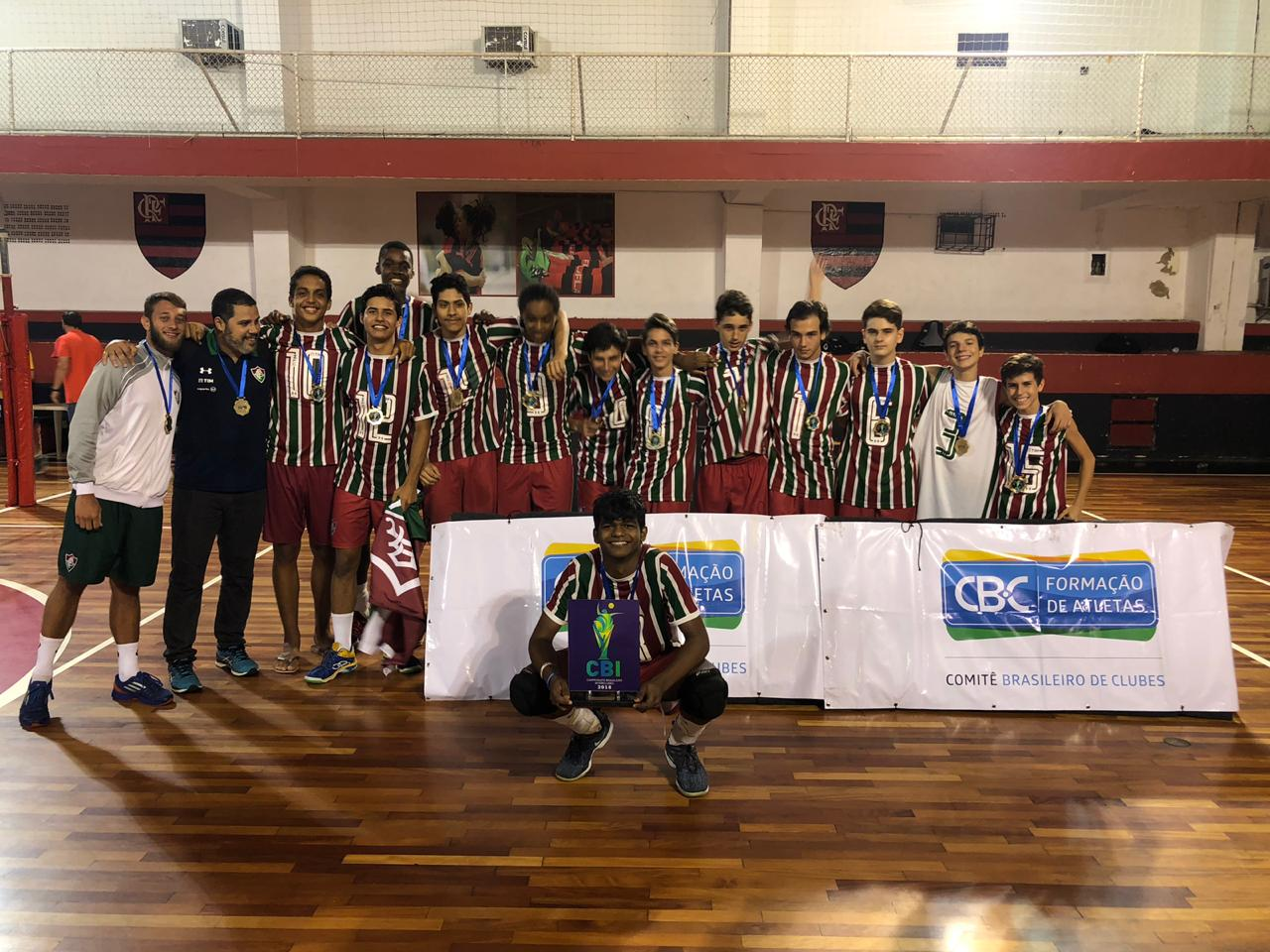 Fluminense vence clássico carioca e leva o bicampeonato da categoria