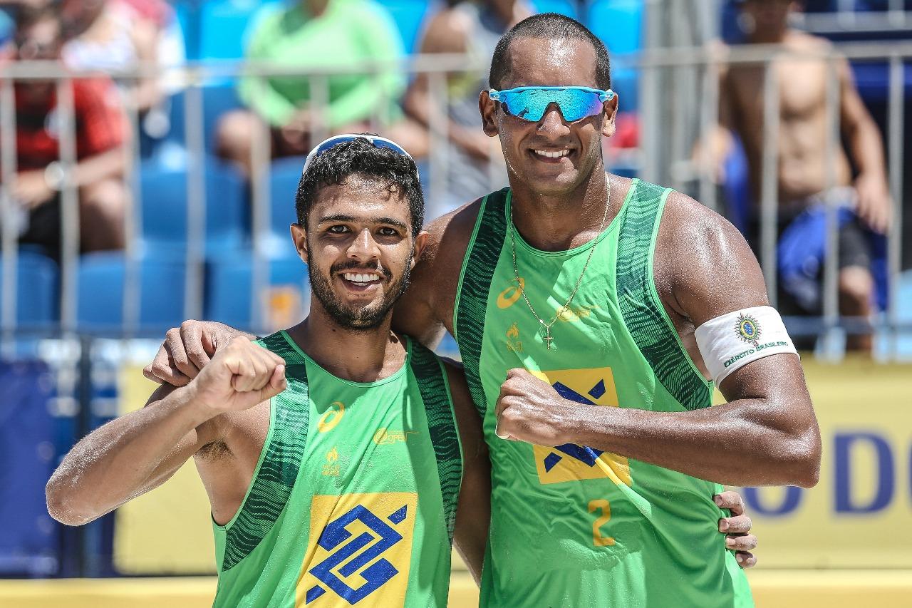 Jô/Léo Vieira enfrenta campeões brasileiros na decisão em Sergipe