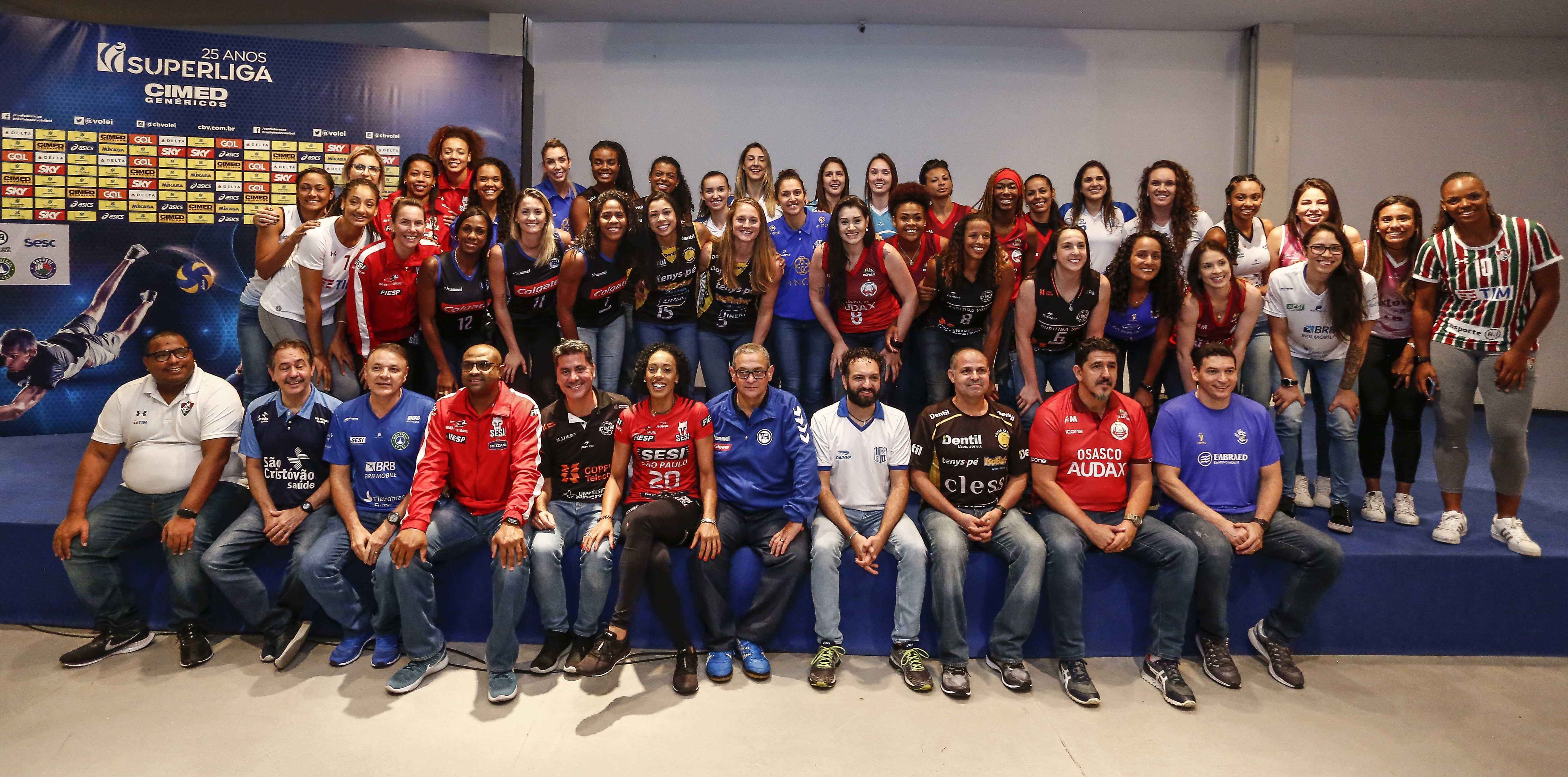 Lançamento em São Paulo reúne representantes dos 12 times participantes