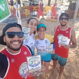 Maranhenses dominam competição de Vôlei de Praia no Piauí