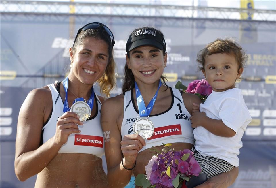 Maria Elisa/Carol Solberg fica com a prata em Portugal