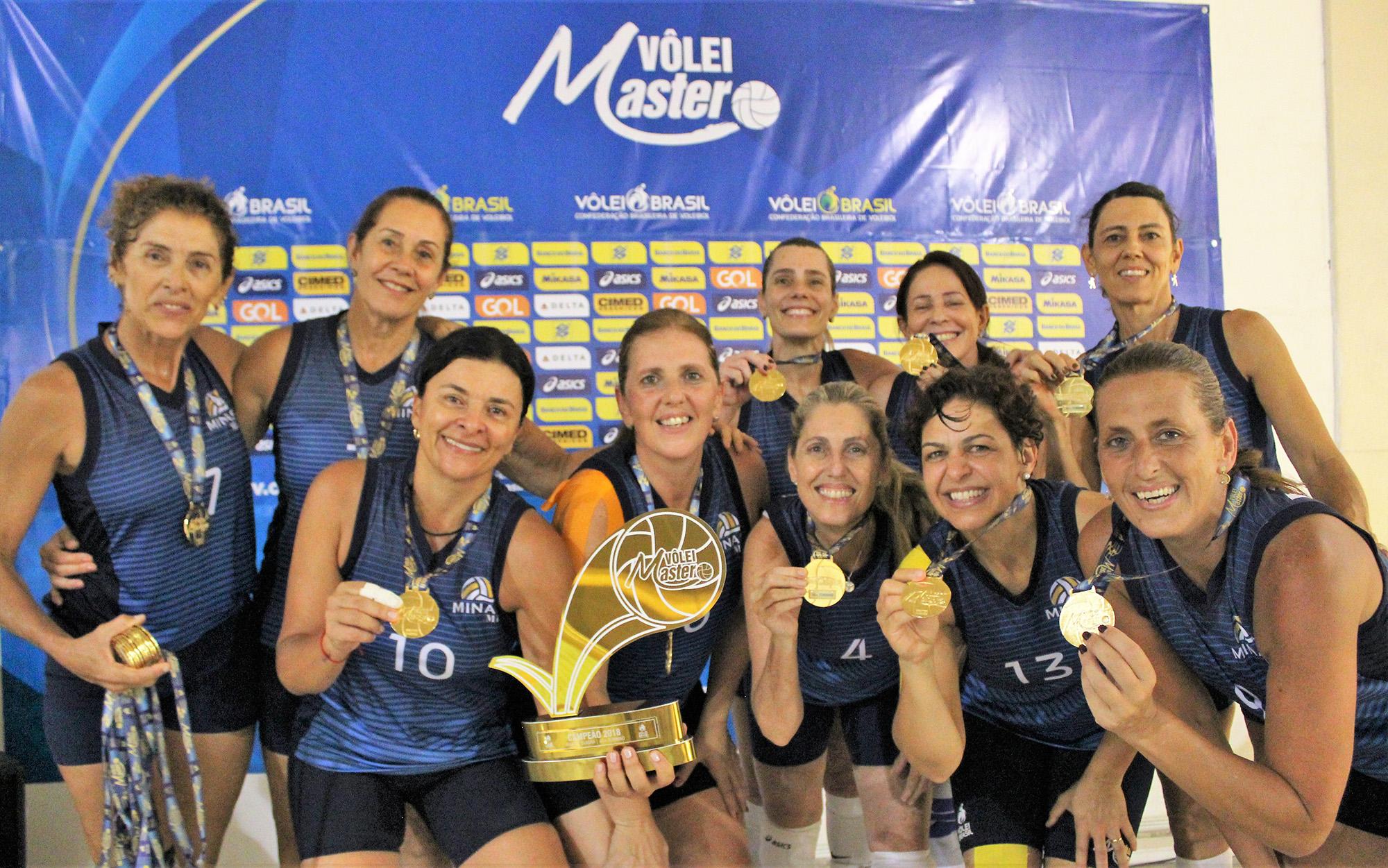 Minas Mix vence e conquista título da 40+ feminina