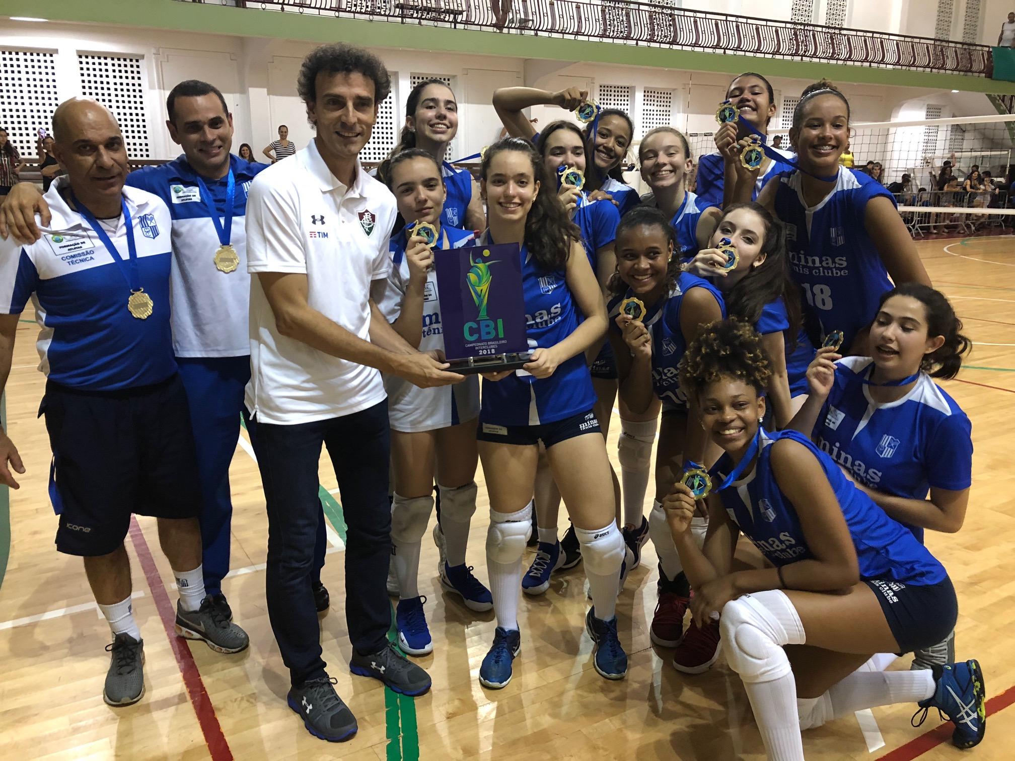 Minas Tênis Clube conquista o título no Rio de Janeiro