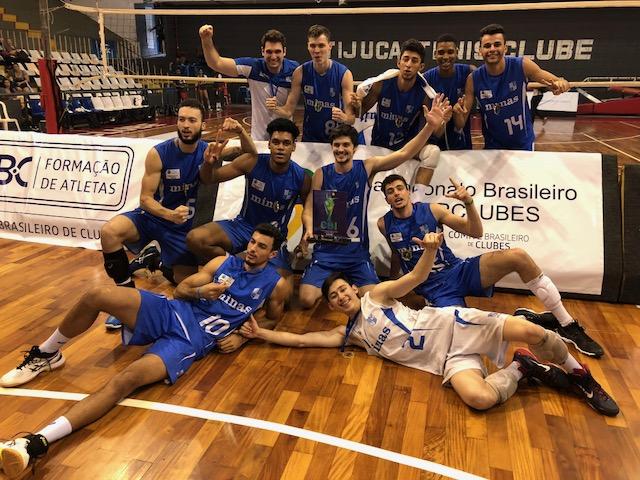 Minas vence o Botafogo e conquista o bicampeonato