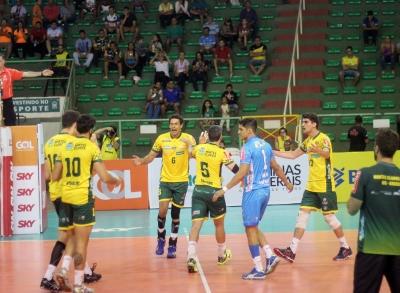 Montes Claros Vôlei e Sada Cruzeiro representam o Brasil