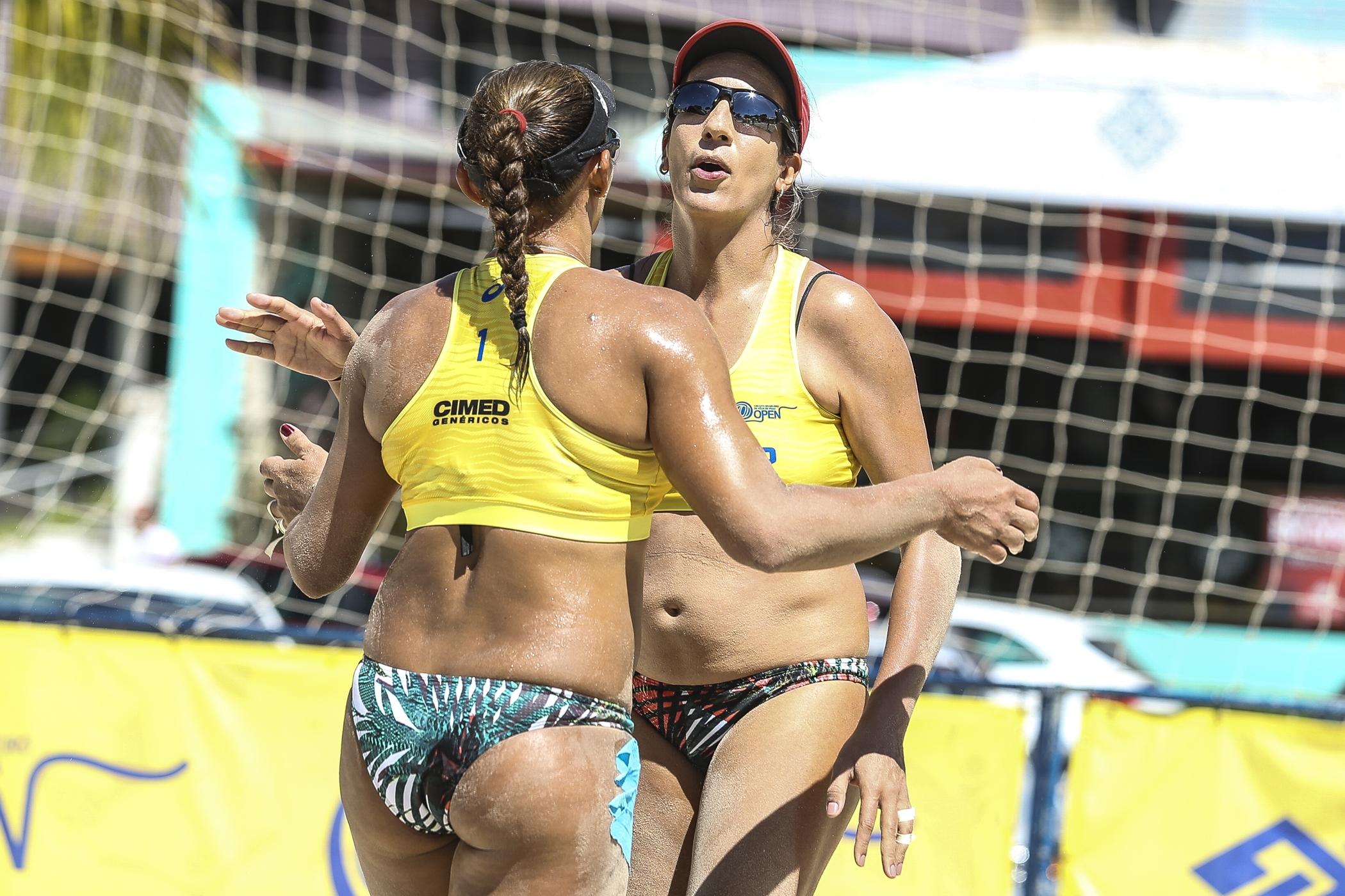 Oitavas de final do torneio feminino são definidas em Maceió (AL)