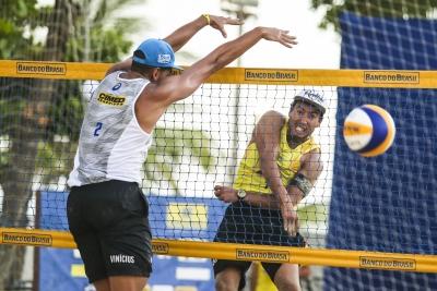 Oitavas de final do torneio masculino são definidas em Maceió (AL)