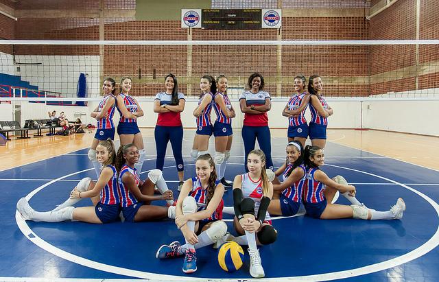 Olympico Club recebe importante competição da base do voleibol nacional