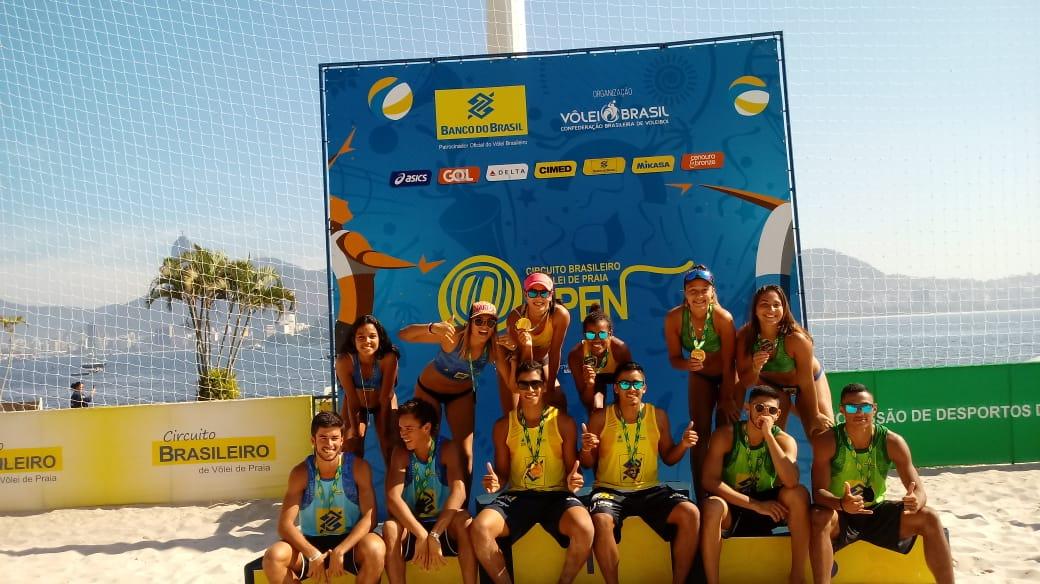 Rafael/Renato (PB) e Victoria/Aninha (MS) conquistam título da segunda etapa