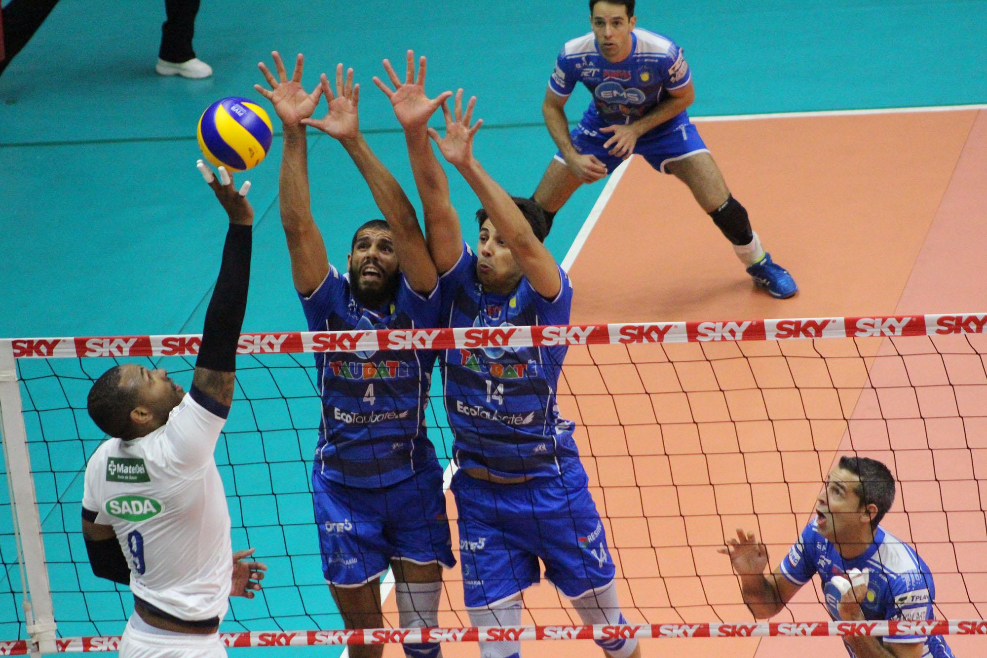 Sada Cruzeiro e EMS Taubaté Funvic fazem jogo decisivo