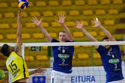 Sada Cruzeiro e Montes Claros Vôlei estão na semifinal