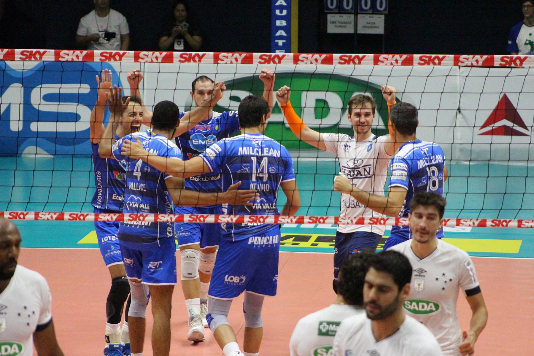 Sada Cruzeiro recebe EMS Taubaté Funvic para terceiro jogo da semifinal