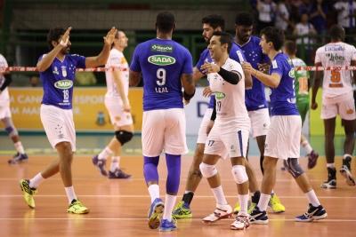 Sada Cruzeiro vence Lebes Canoas por 3 sets a 0