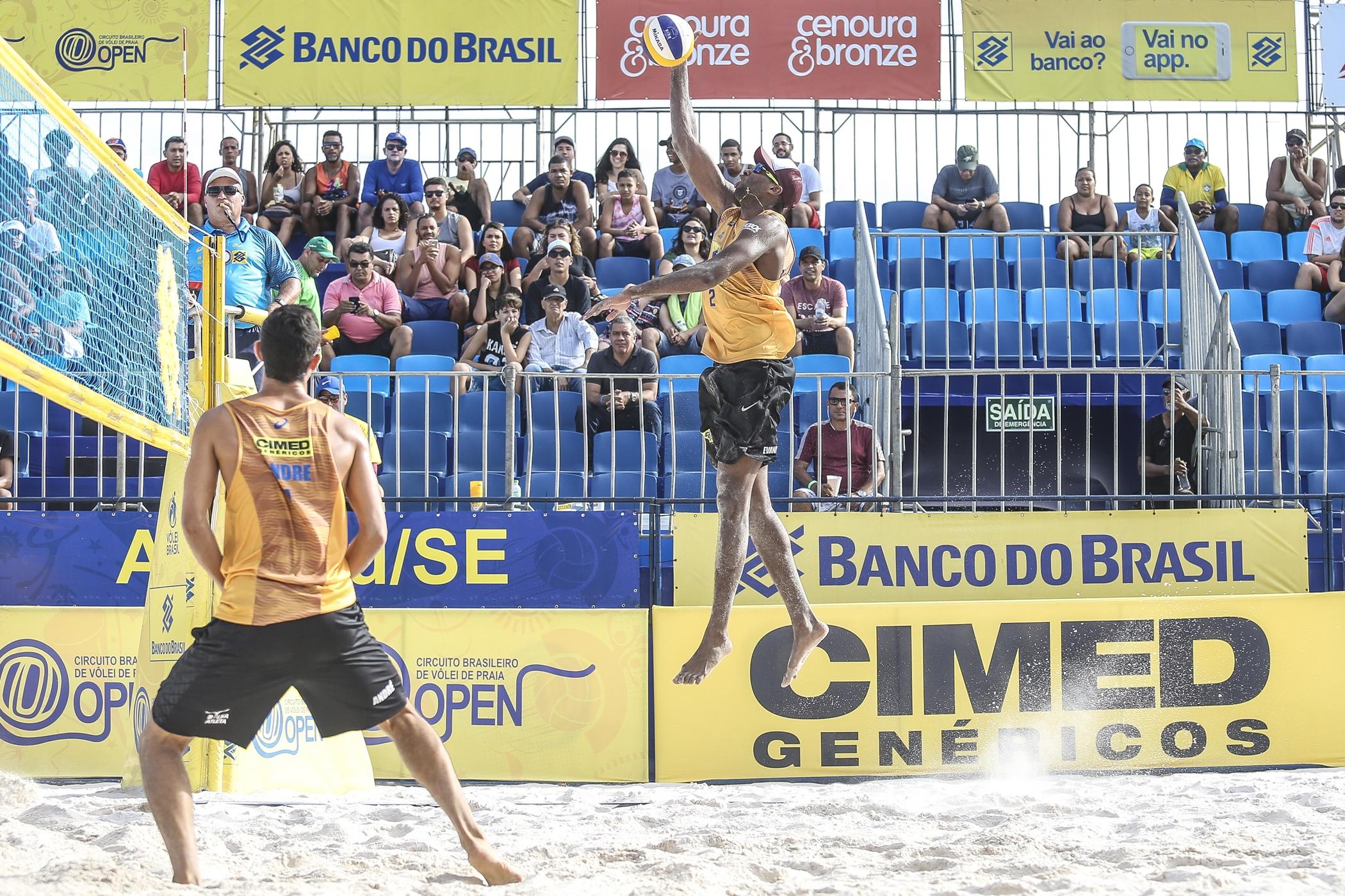 Semifinais definidas em Aracaju com campeões antecipados e retorno de Jô/Léo