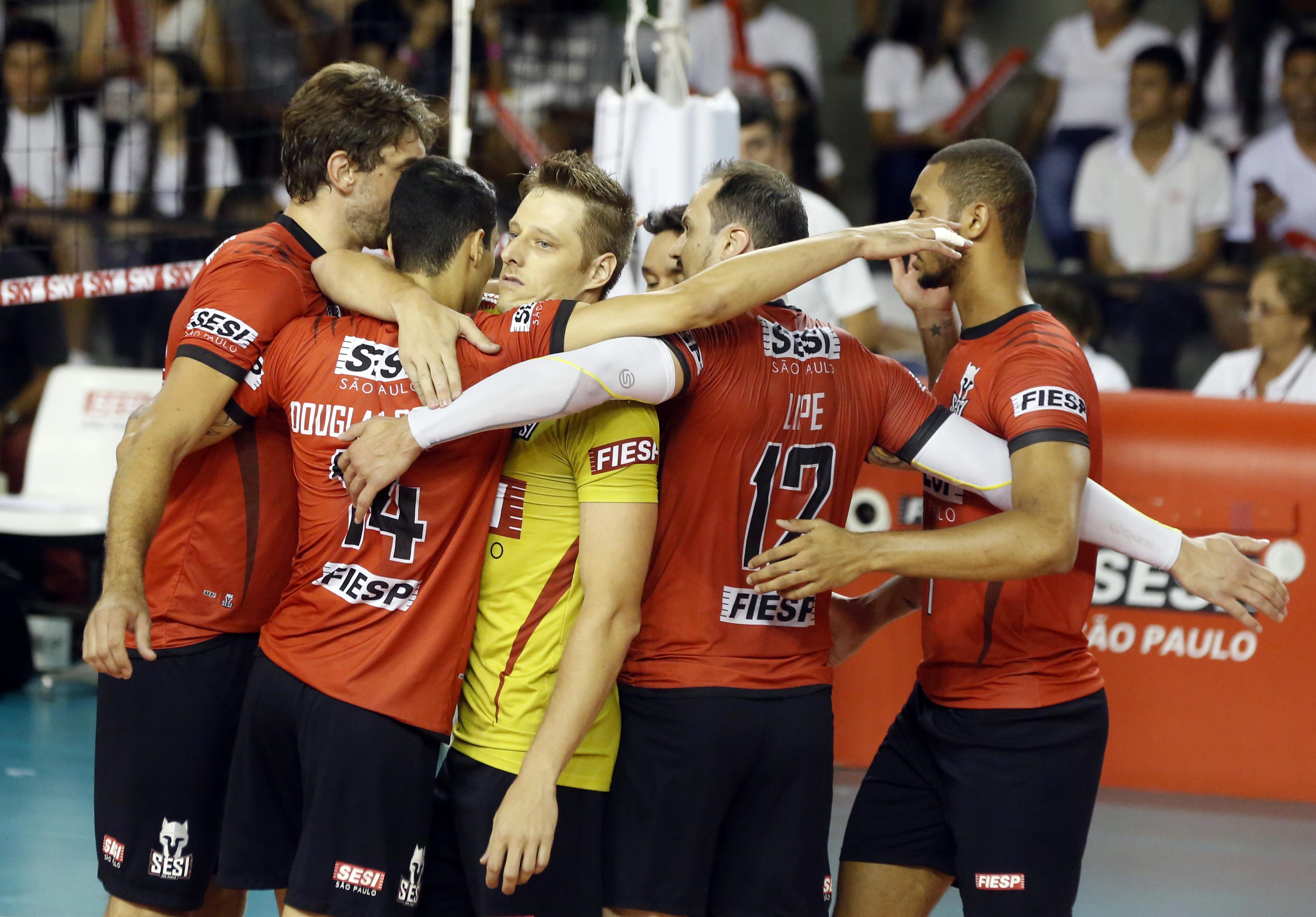 Sesi-SP vence e fará final contra o Sada Cruzeiro