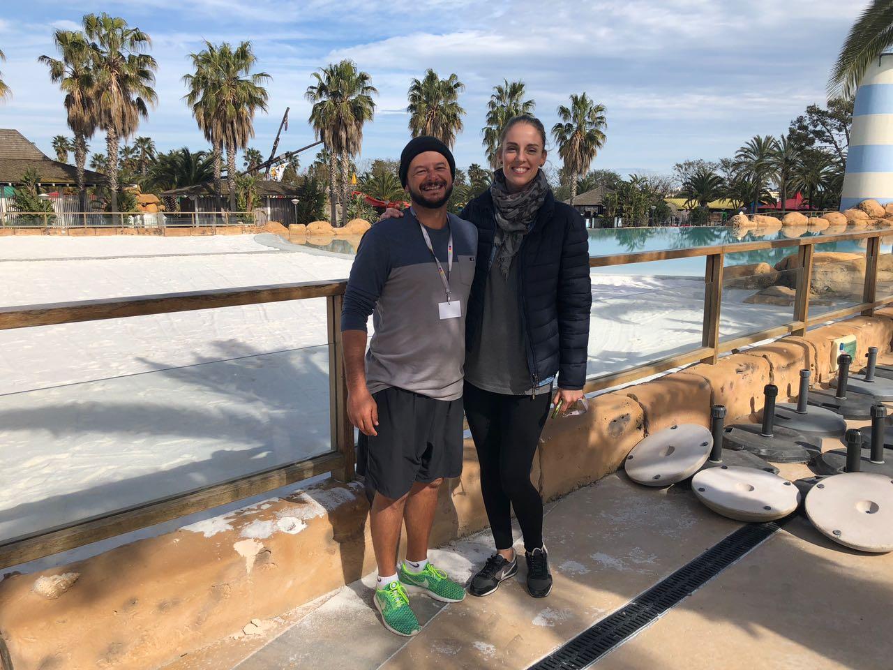 Técnico do vôlei de praia brasileiro ministra clínica na Espanha
