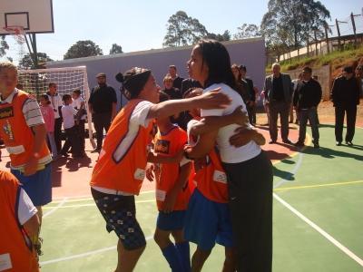Teresina recebe inauguração de cinco núcleos com participação de campeã olímpica Fofão