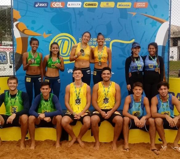 Thiago/Thiego (PB) e Maria Clara/Anna Beatriz (RJ) vencem etapa de Maringá (PR)