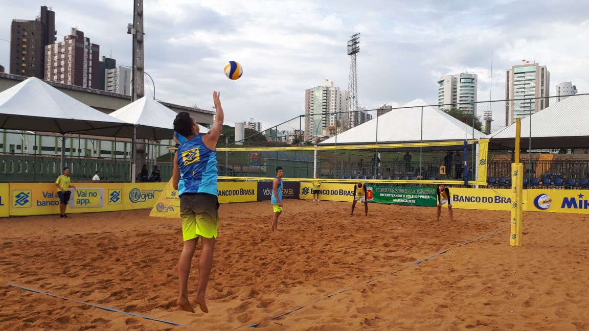Últimos classificados à fase principal do torneio são definidos em Maringá