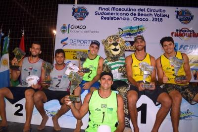 Vitor Felipe e Guto conquistam o ouro e Brasil leva o título da temporada