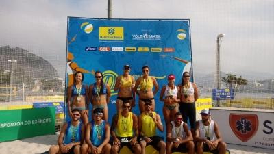 Vivian/Vitoria (PA/RJ) e Marcus/Luciano (RJ/ES) conquistam etapa