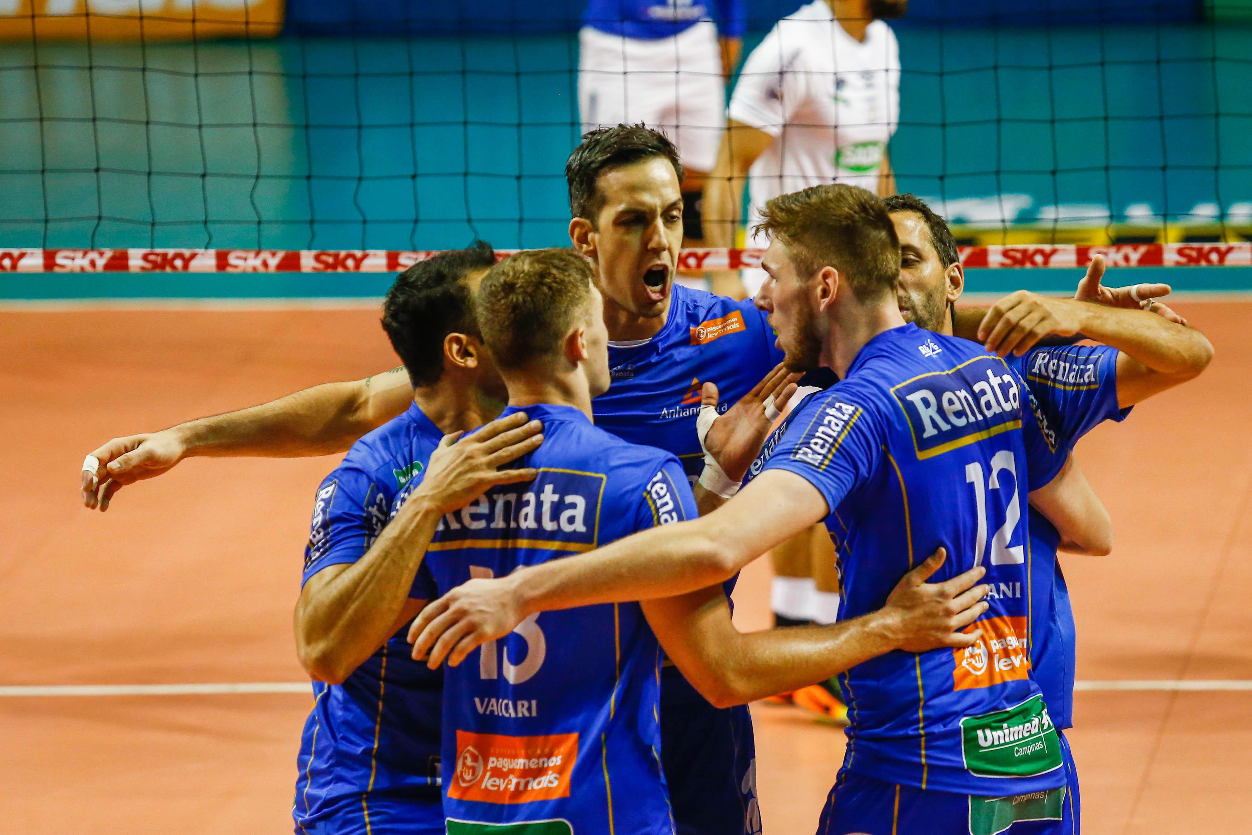 CBV - Vôlei Renata vence o Sada Cruzeiro na partida de abertura 9c3978220e99a